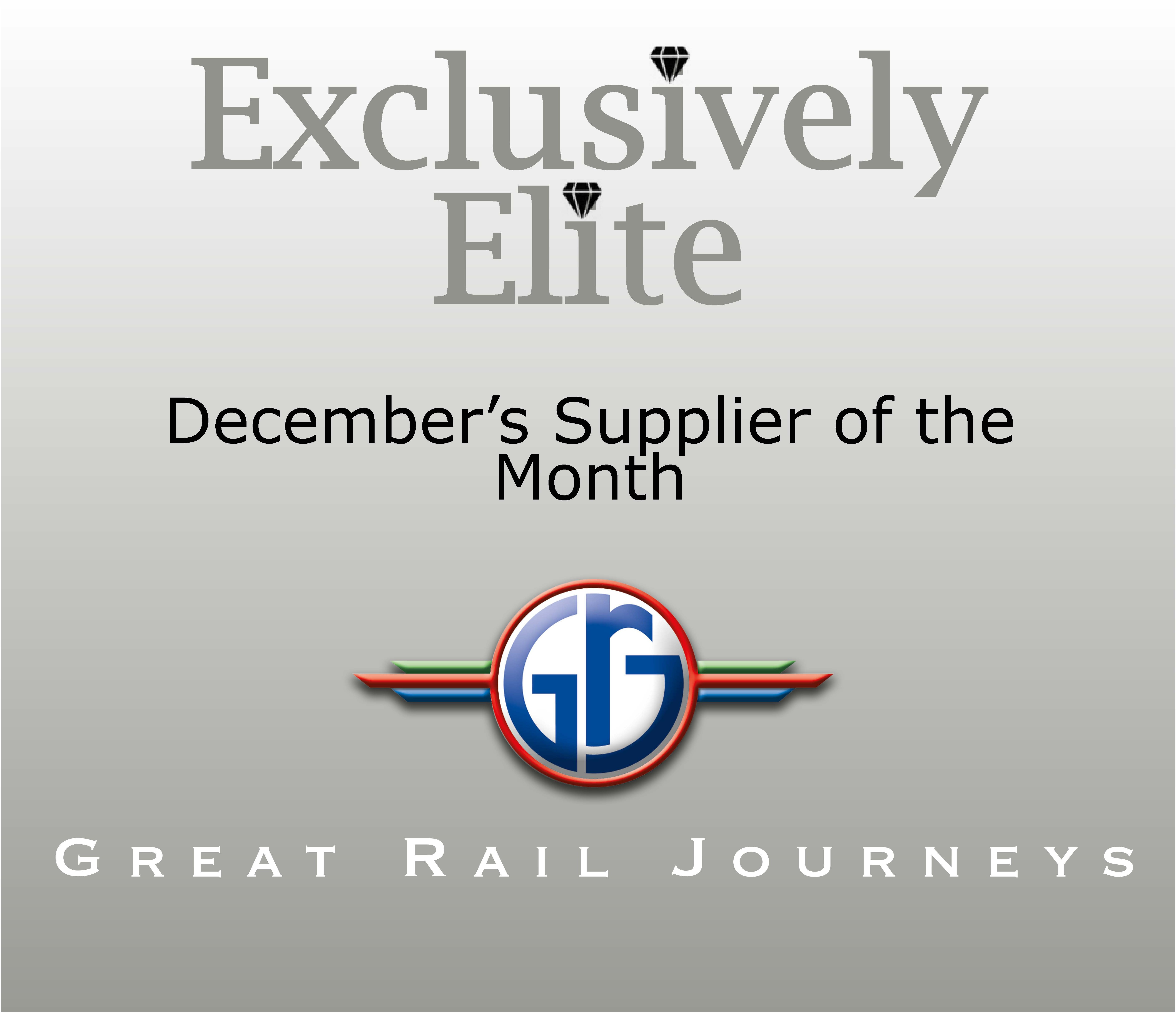 December's Supplier of the Month is Great Rail Journeys
